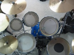 2015 Drum set above